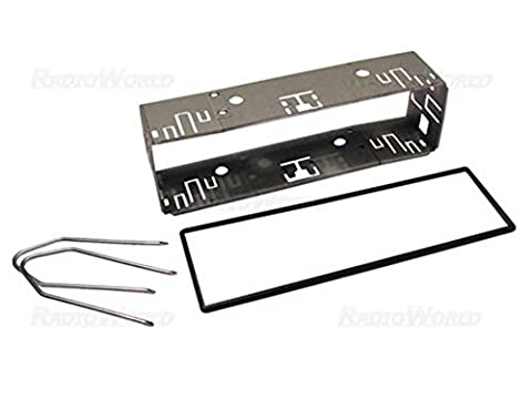 Universal Car Stereo Radio Mounting Metal Cage Frame Surround With Spacer Trim Keys