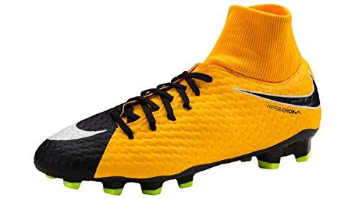 Nike Herren Hypervenom Phelon III DF FG Fußballschuhe orange