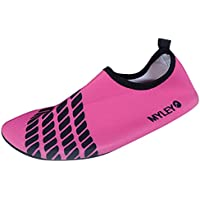 3d17795260c Panegy - Zapatos Agua de Natación Infantil para Niños Niñas Slip on Suave  Zapatillas Deportivos Acuático