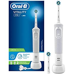 Oral-B - 80312522 - Oral-B Vitality 170 White Cross Action Brosse À Dents Électrique Par Braun -