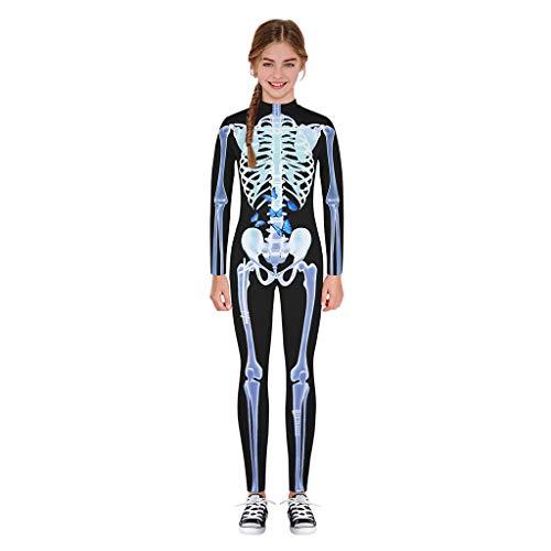 Jaysis Cartoon Schädel Drucken Strampler Overall-Kleidung Unisex Strampler Lange Ärmel Body Baby Mode Mädchen Jungen O-Ausschnitt Soft Jumpsuit Outfits