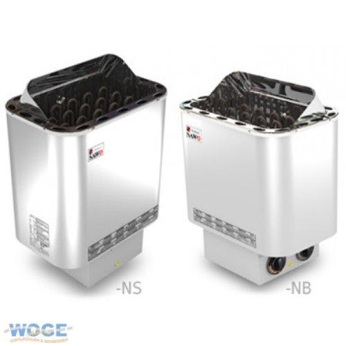 Saunaofen Nordex 6kW mit integrierter Steuerung
