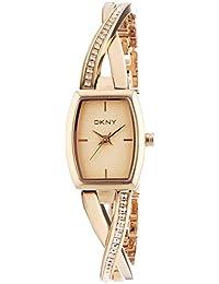 DKNY Damen-Armbanduhr Analog Quarz Edelstahl beschichtet NY2238
