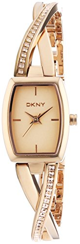 DKNY (DNKY5) Women's Quartz Watch with Rose Gold Dial Analogue Display and Rose Gold Stainless Steel Bracelet NY2238