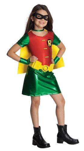 Batman Robin Superheld Kinderkostüm für Mädchen - (Mädchen Robin Und Für Kostüme Batman)