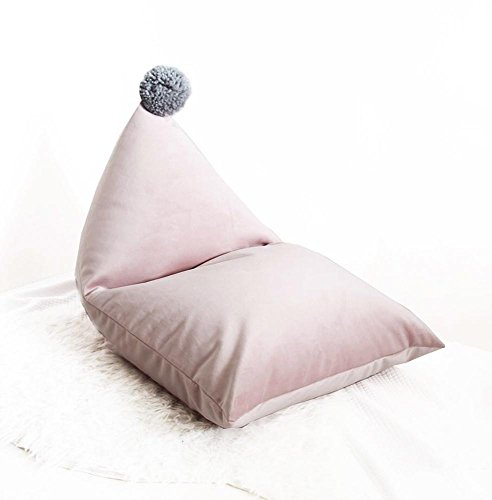 Bohnenbeutelstuhl: Riesige Möbel Bean Bag - großes Sofa mit weicher Microfaser -Geeignet für Garten Wohnzimmer und Schlafzimmer Schwarz , Gray