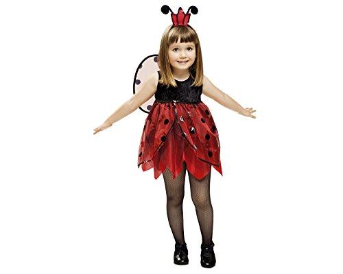 Imagen de my other me  disfraz de mariquita hada para niña, 1 2 años viving costumes 201312