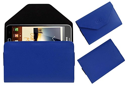 Acm Premium Pouch Case For Samsung Galaxy Note N7000 Flip Flap Cover Holder Blue  available at amazon for Rs.329