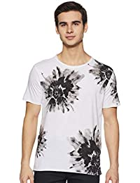 43b45089 White T-Shirts for Men: Buy White T-Shirts for Men Online at Best ...