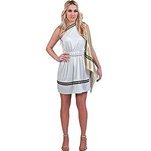 Fyasa 700719Lady disfraz romano, Blanco, Grande