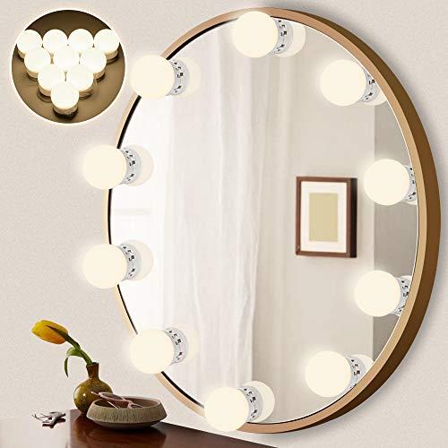 LEDMO Luces Espejo 3200K-6500k estilo Hollywood espejo