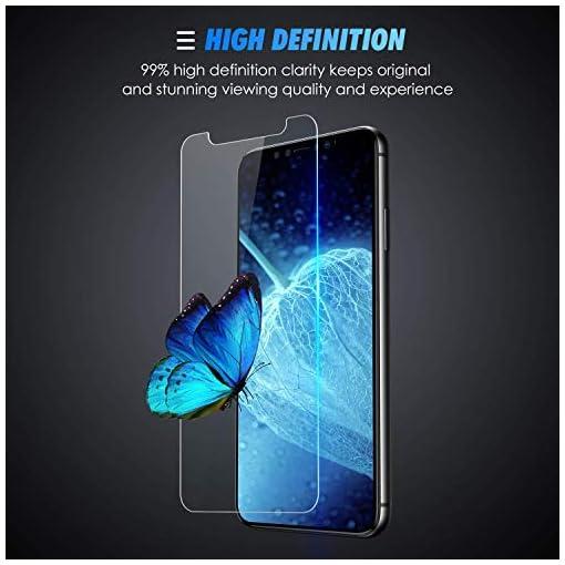 SPARIN [3 Pezzi Compatibile con iPhone 11 2019 / iPhone XR 6,1 Pollici 2018 Pellicola Vetro Temperato, Pellicola Protettiva iPhone XR con [Strumento di Installazione Facile] [HD Chiaro]