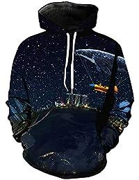 Universo Galaxy Starry Sky Earth Impresión en 3D Sudadera con Capucha  Hombres y Mujeres Ropa Deportiva cd0e35a827d