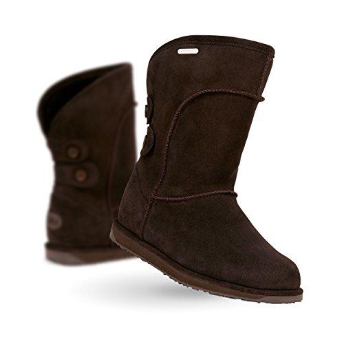 EmuCharlotte - Stivali da Neve donna Marrone (Cioccolato)