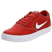 حذاء اس بي تشارج القماشي للرجال من نايك, (Red (Mystic Red/White/Black 601)), 7.5 UK