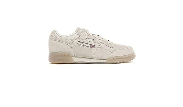 96c6cf5ab45 Reebok Workout Plus TN - Stucco Beach Stone-UK 9 EU 43  Amazon.co.uk  Shoes    Bags