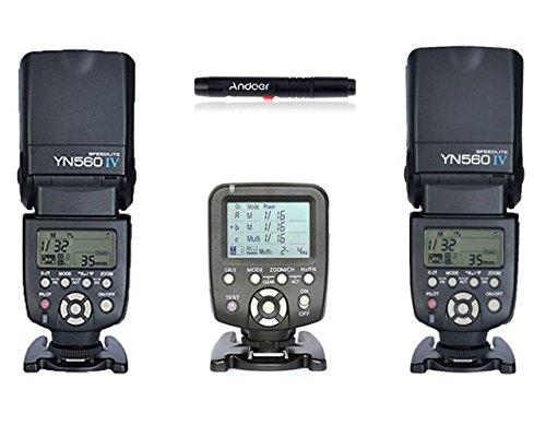 YONGNUO Digital SPEEDLITE YN560 II Blitzgerät (Stroboskopblitz), z.B. für Nikon D700, D300, D100, D90, D60, D3, D2, D1, D7000, D5000,...