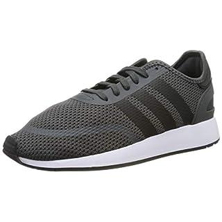 adidas Men's N-5923 Gymnastics Shoes, Grey Six/Core Black/FTWR White, 9 UK