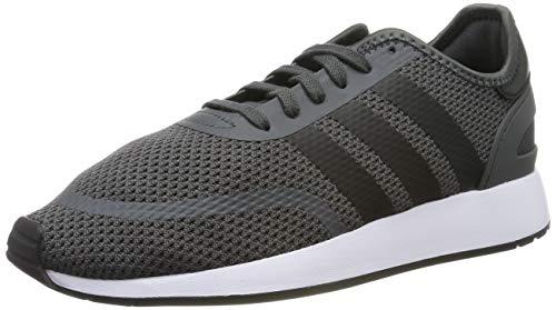 adidas N-5923, Scarpe da Ginnastica Uomo, Grigio (Grey Six/Core Black/Ftwr White), 48 EU