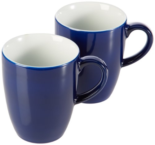 Kahla 57C136A70307C Kaffeebecher-Set 2-teilig Pronto, nachtblau
