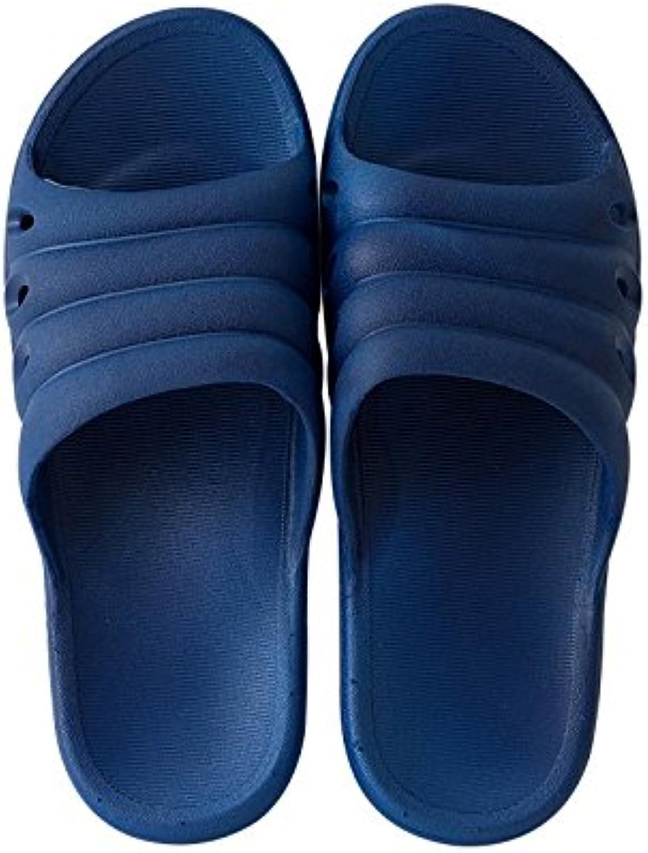 BAOZIV587 - Zapatillas para el aire libre, para mujer, verano, interior antideslizante, para el baño, parte inferior...
