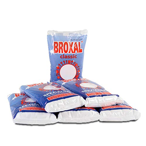 6x 2Kg Regeneriersalz Broxal Classic für die Spülmaschine