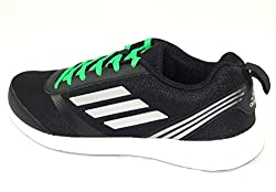 adidas Mens Adiray M Cblack, Silvmt and Sollim Running Shoes - 8 UK/India (42 EU)