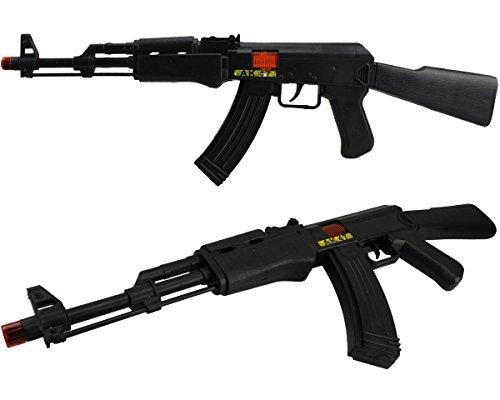 AK47 Rattergewehr Spielzeuggewehr Spielzeug Gewehr mit RATTER-SOUND! (Spielzeug Gewehr Black Ops)