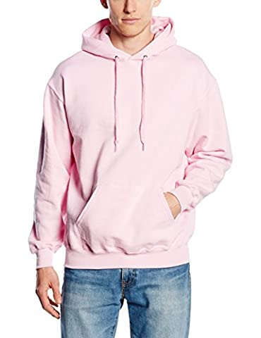 Fruit of the Loom Herren Kapuzenpullover SS026M, Pink (Light Pink), S