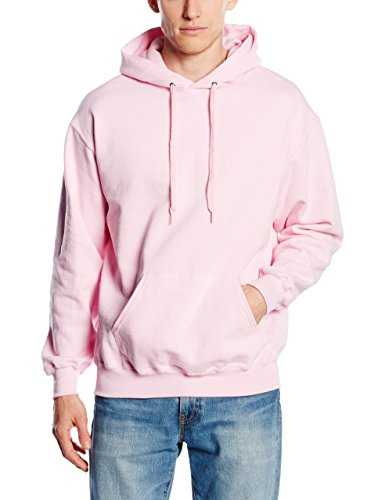 Fruit of the Loom SS026M, Cappuccio Uomo, Pink (Light Pink), XX-Large