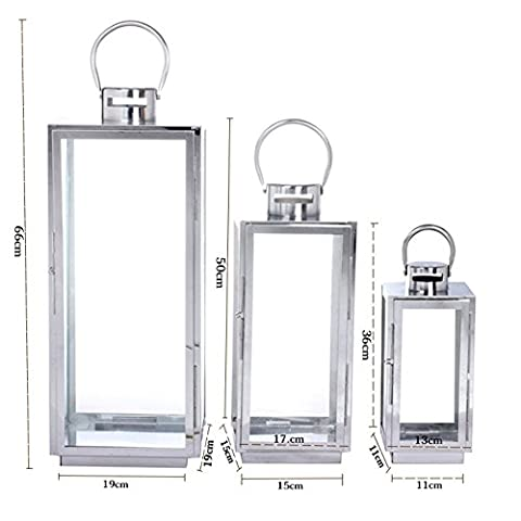 Candle holder/european stainless steel lantern/portable candlestick/hotel beach banquet dedicated-D