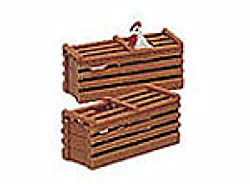 Bachmann Industries Scenery - Two Chicken Crates - Large