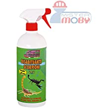 REPELLENTE DISABITUANTE ALLONTANA ANTI SCORPIONI PRODOTTO SPRAY NATURALE 500 ML