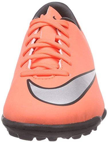Nike Mercurial Victory V Tf, Scarpe da Calcio Unisex – Bambini Arancione (Bright Mango/Hyper Turquoise/Metallic Silver)