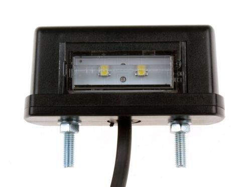 Preisvergleich Produktbild WAMO Kennzeichenleuchte LED PKW Anhänger Kennzeichenbeleuchtung Schlepper Bagger