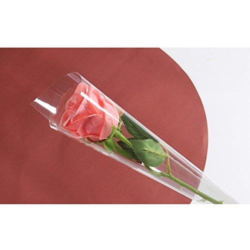 Transparente Zellophan-Floristen-Folie, Folienrolle zum Einwickeln von Geschenkkörben, Geschenkpapier, Kunst- und Handwerks-Zubehör, 10m x 54cm