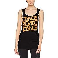 Urban Dance Tanktop, Camiseta Deportiva de Tirantes para Mujer