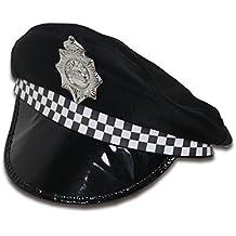 Ousdy Gorro de policía 692094 - Negro 568973c9d72