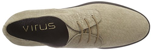 Donna Beige Taupe Acm 26050 Scarpe Oxford croco Oxford UTREIqn6