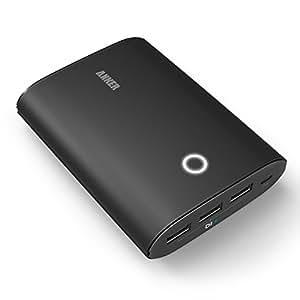 Anker® 2nd Gen Astro3 Batteria Esterna Intelligente (12800mAh di Capacità / 3 Porte USB / 4A / PowerIQ) per iPad, iPhone, Samsung, Nexus e altri
