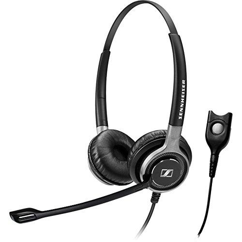 Sennheiser SC 668Binaural Head-Band Black Headset-Headsets (Call Center/Office, Binaural, Head-Band, Black, Wired, 1M)