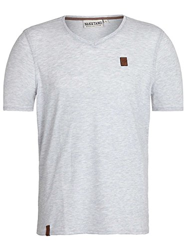 Naketano Damen T-Shirt Wolle Vii amazing grey melange
