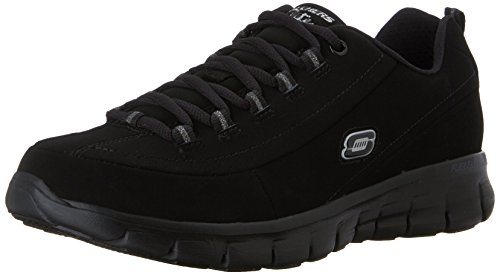 Skechers Syngery Trend Setter, Women's Low-Top Sneakers, Black (Black), 39 EU (6...
