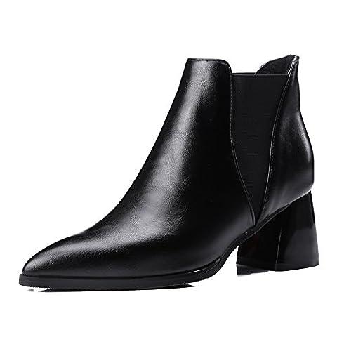 AdeeSu , Damen Chelsea Boots , schwarz - schwarz - Größe: 36.5 (Sex And The City Free Online)