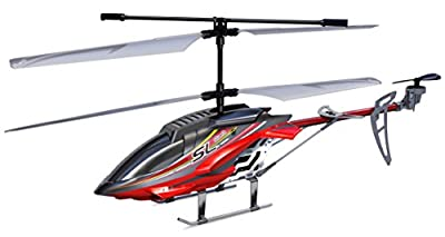 Silverlit Sky Hercules 3-Channel Radio Control Gyro Helicopter with Led Light (Large, Assorted)