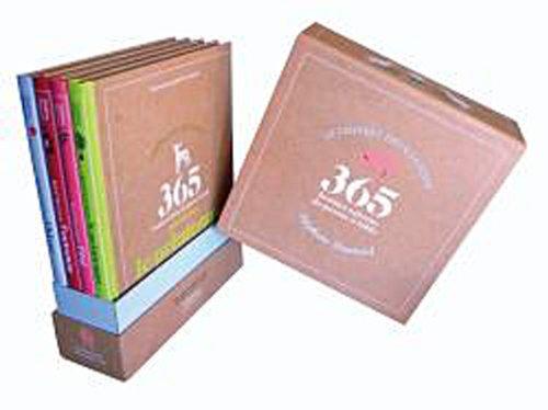 coffret 4 livres almanach ou 4 saisons