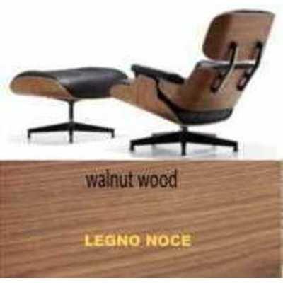 Fauteuil et pouf simili Eames Lounge Chair Style en d'occasion  Livré partout en Belgique
