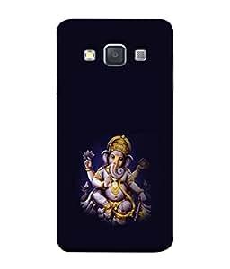 PrintVisa Designer Back Case Cover for Samsung Galaxy A3 (2015) :: Samsung Galaxy A3 Duos (2015) :: Samsung Galaxy A3 A300F A300Fu A300F/Ds A300G/Ds A300H/Ds A300M/Ds (Ganesha Spiritual)