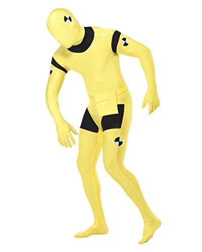 Ganzkörperanzug Crash Test Dummy (Test Crash Kostüm Dummy)