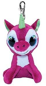 LUMO STARS Taiga - Juguetes de Peluche (Animales de Juguete, Violeta, Blanco, Felpa, 3 año(s), Unicornio, Niño/niña)